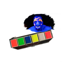 6 colors UV Fluorescent face paint palette